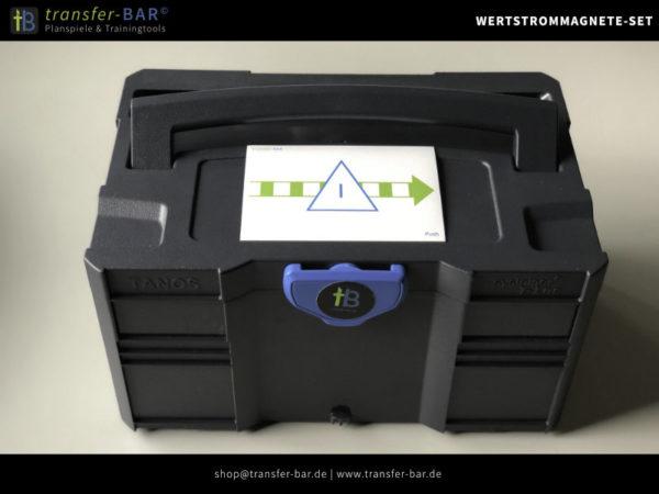 Wertstrom Symbole - Magnetset