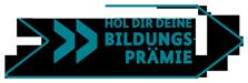 logo bildungspraemie petrol